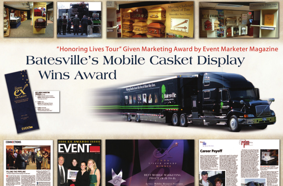 image of award poster for Event Marketing magazine